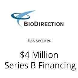 Bio-Direction has secured $4 million series B Financing